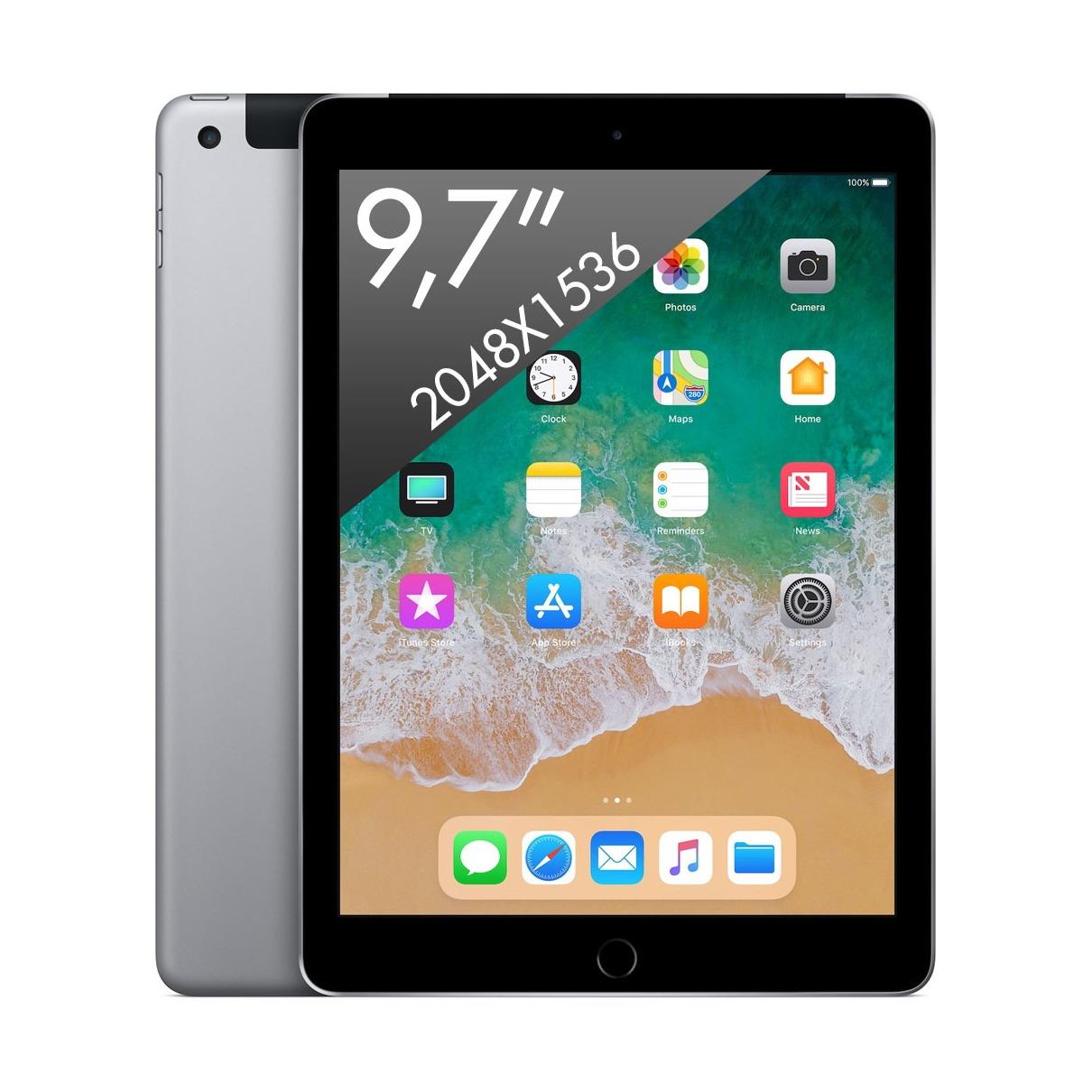 Apple iPad 32GB (Wi-Fi) Spacegrijs (2018)