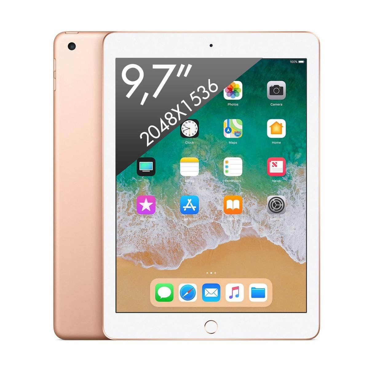 Telefoonleader - Apple iPad (2018) Wifi (32GB) goud