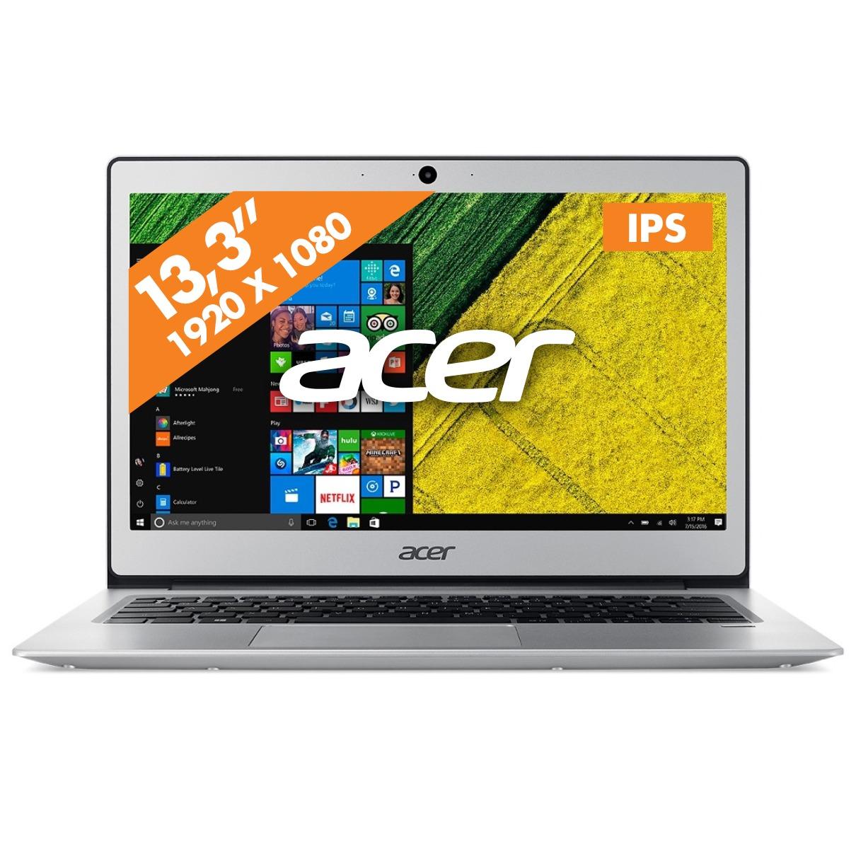 Acer laptop Swift 1 SF113 31 C4VV Zilver