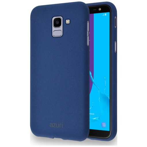 Azuri Flexible Sand Samsung Galaxy J6 (2018) Back Cover Blauw
