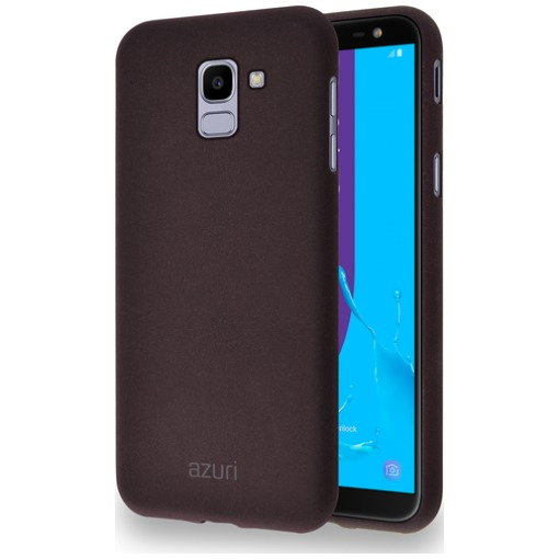 Azuri Flexible Sand Samsung Galaxy J6 (2018) Back Cover Bruin