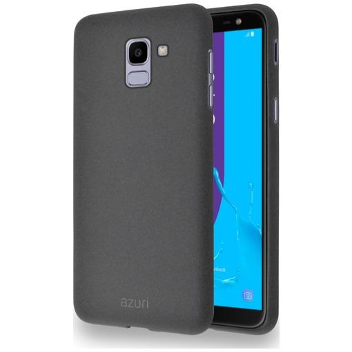 Azuri Flexible Sand Samsung Galaxy J6 (2018) Back Cover Grijs
