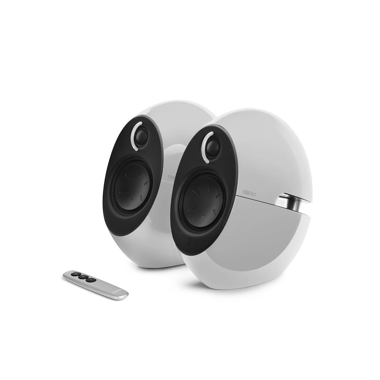 Edifier boekenplank speaker E25HD wit