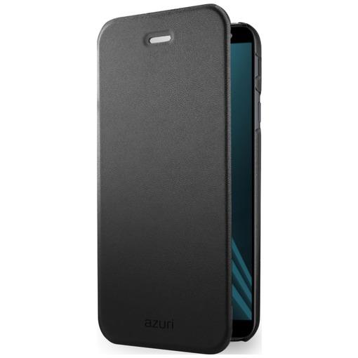 Azuri Booklet Ultra Thin Samsung Galaxy A6 Plus (2018) Zwart