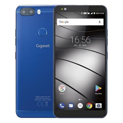 Gigaset smartphone GS370 Plus blauw