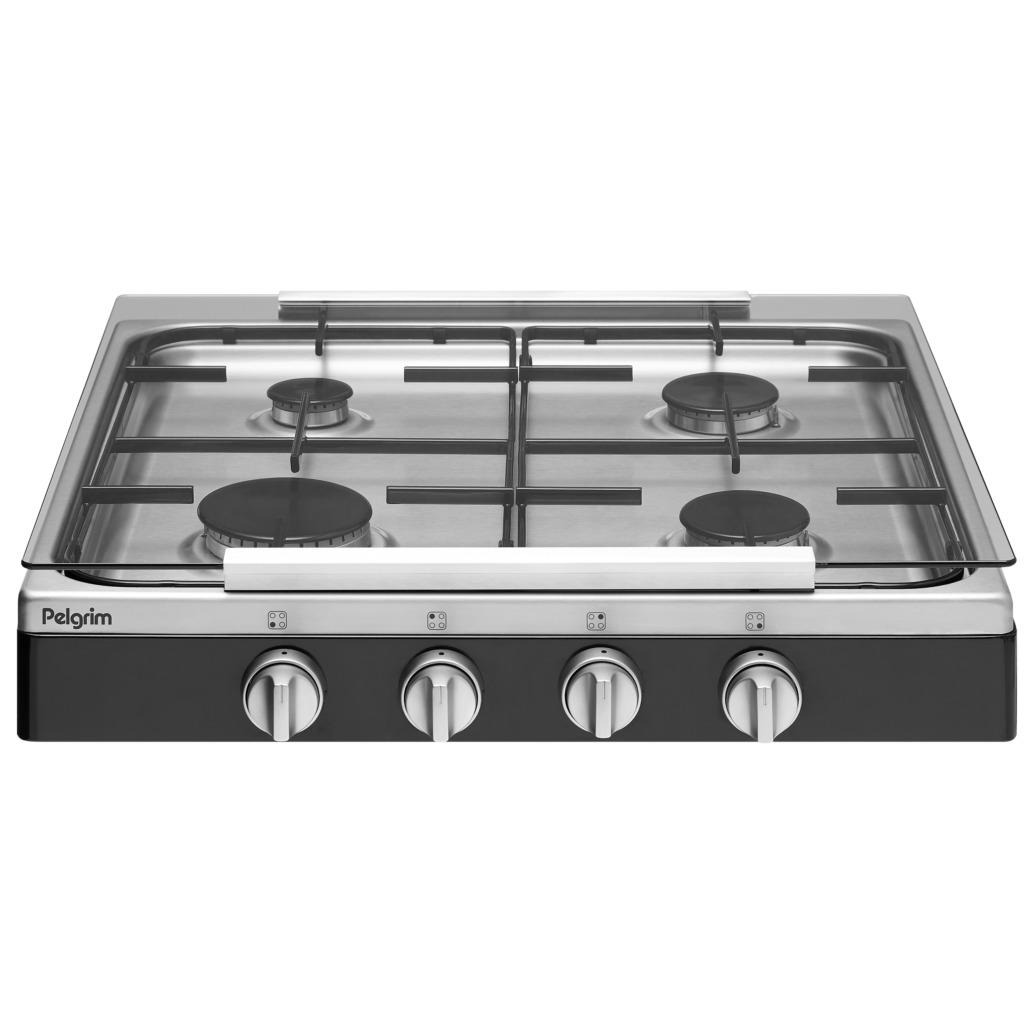 Pelgrim gas kookplaat PK454ZWSA - Prijsvergelijk