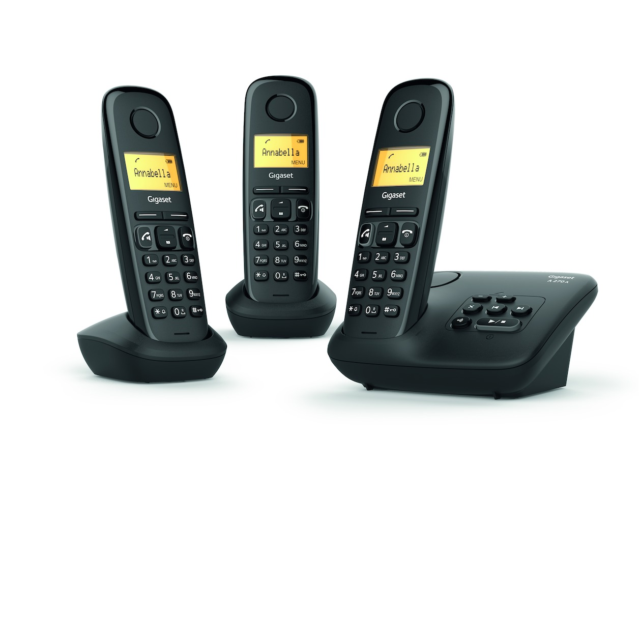 Gigaset dect telefoon A270A TRIO