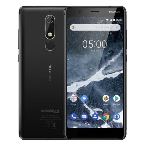 Nokia smartphone 5.1 zwart