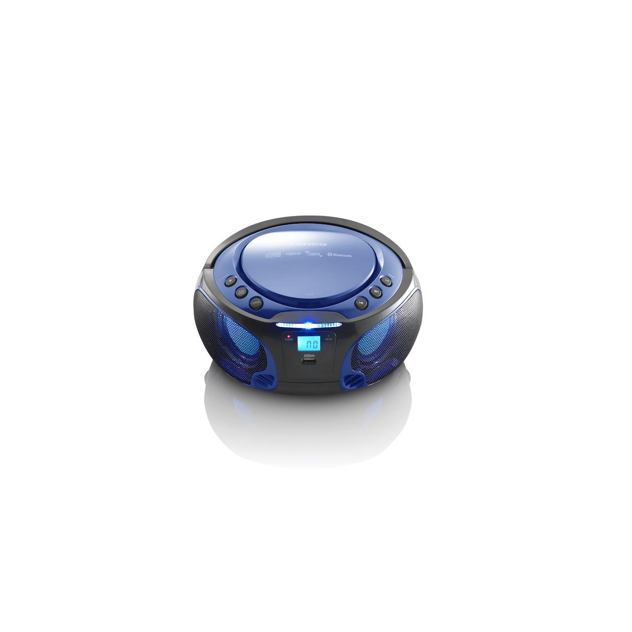 Lenc CD MP3 speler SCD-550 Blauw