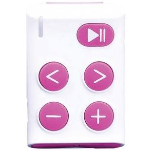 Lenco Xemio-154 MP3-speler 0 GB Roze Bevestigingsclip