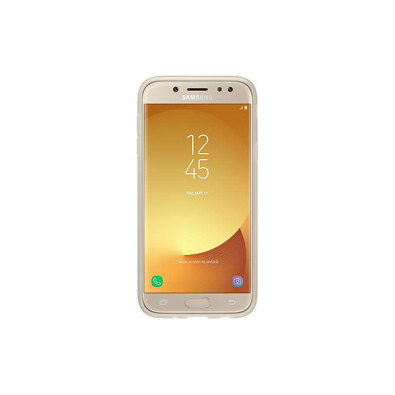 Samsung Jelly Cover voor Galaxy J5 2017 goud