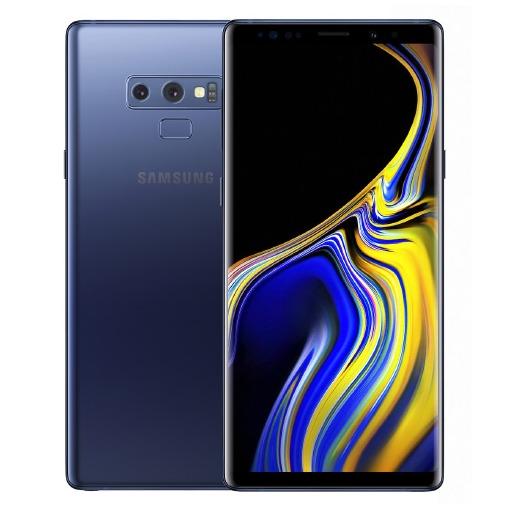 Samsung Galaxy Note 9 blauw