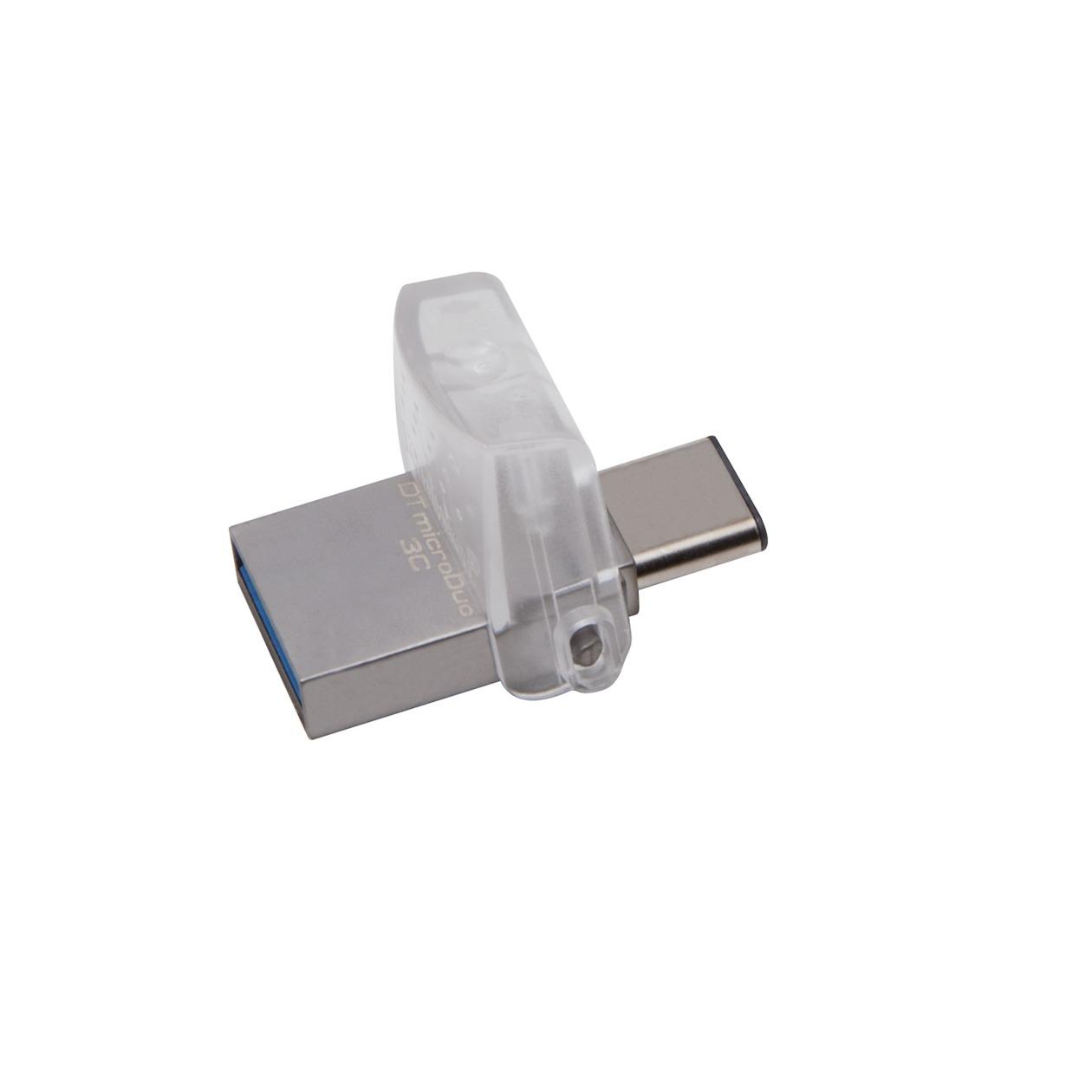 Kingston usb-sticks DataTraveler USB 3.0 MicroDuo 128GB