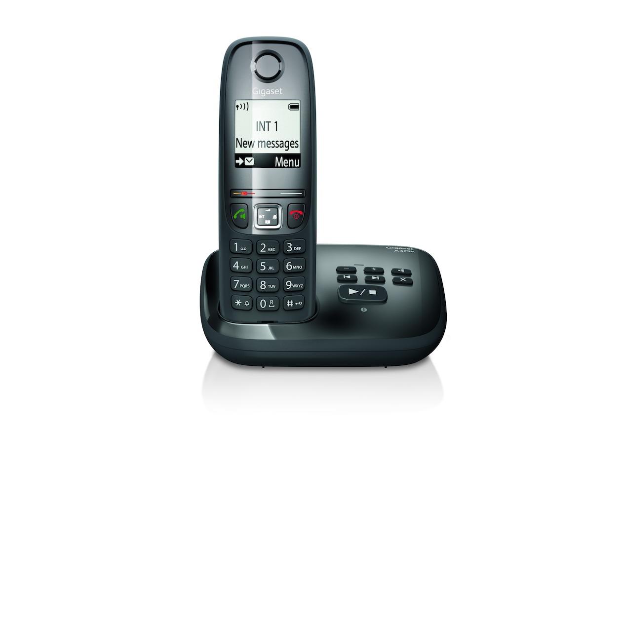 Gigaset dect telefoon A475A zwart