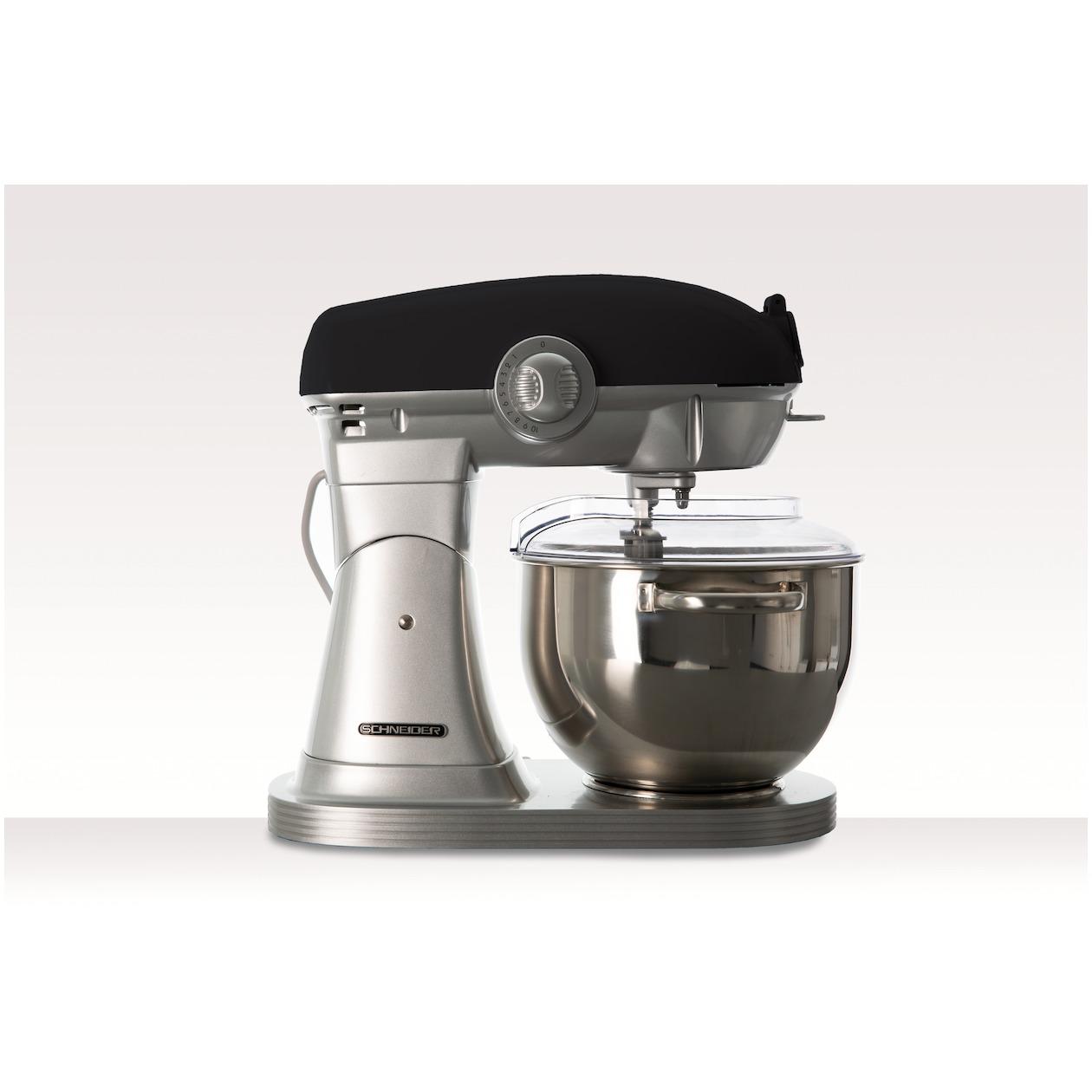 Schneider keukenmachine SCFP57B mat zwart