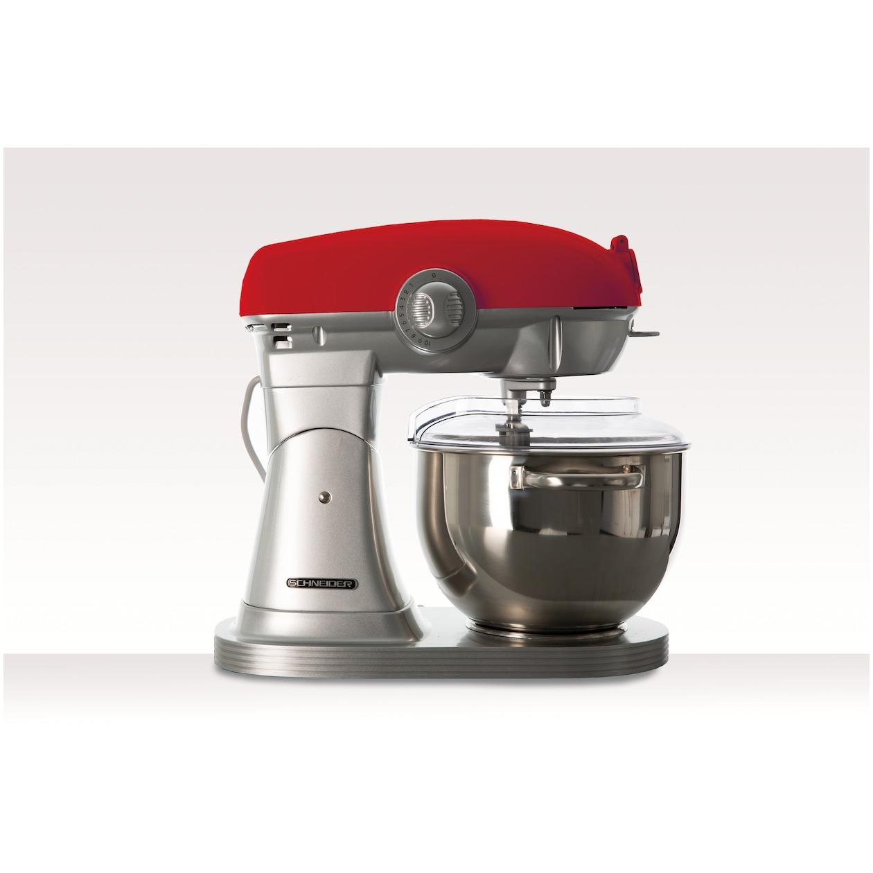 Schneider keukenmachine SCFP57R rood - Prijsvergelijk