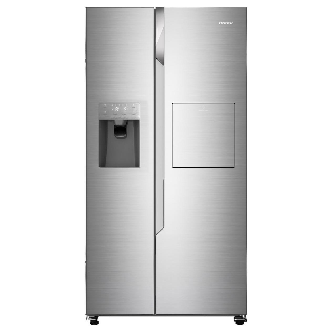 Hisense amerikaanse koelkast RS694N4BC1 rvs - Prijsvergelijk