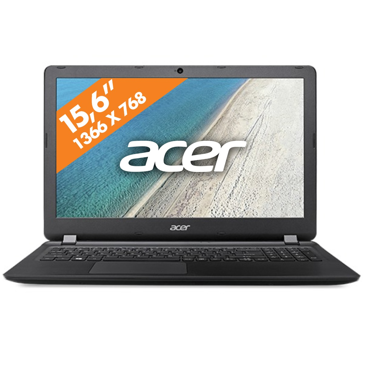 Acer laptop Extensa 15 EX2540 36F3 zwart