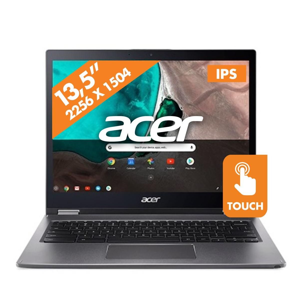 Afbeelding van Acer chromebook Chromebook Spin 13 CP713-1WN-54GA grijs