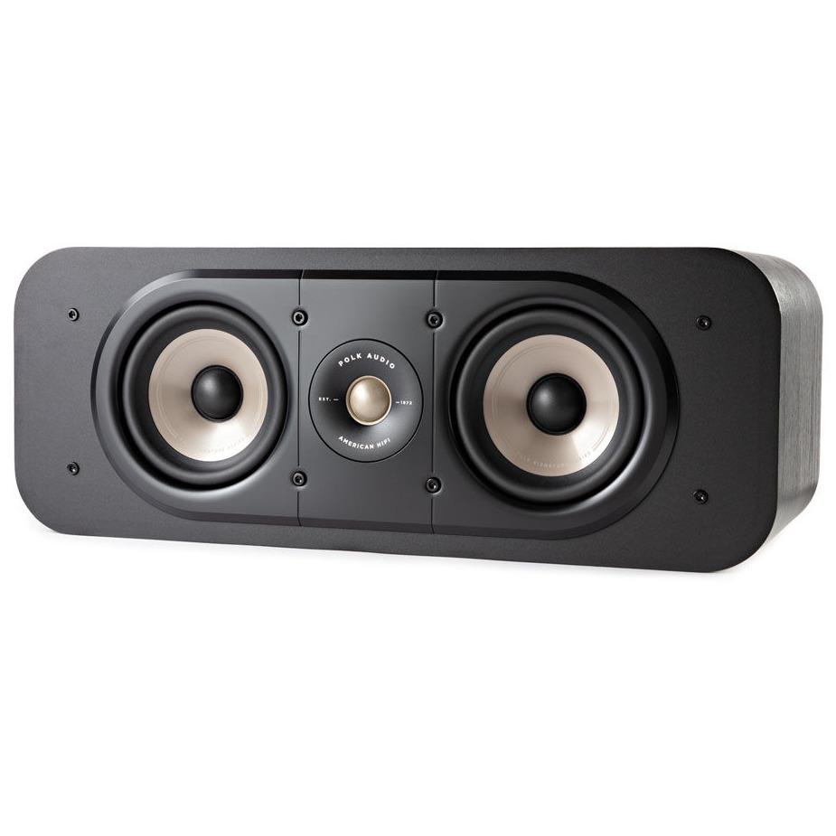 Polk boekenplank speaker Signature S30E Center Speaker zwart