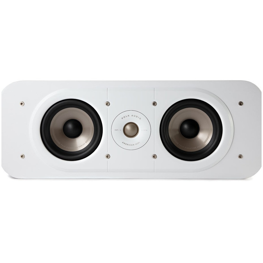 Polk boekenplank speaker Signature S30E Center Speaker wit