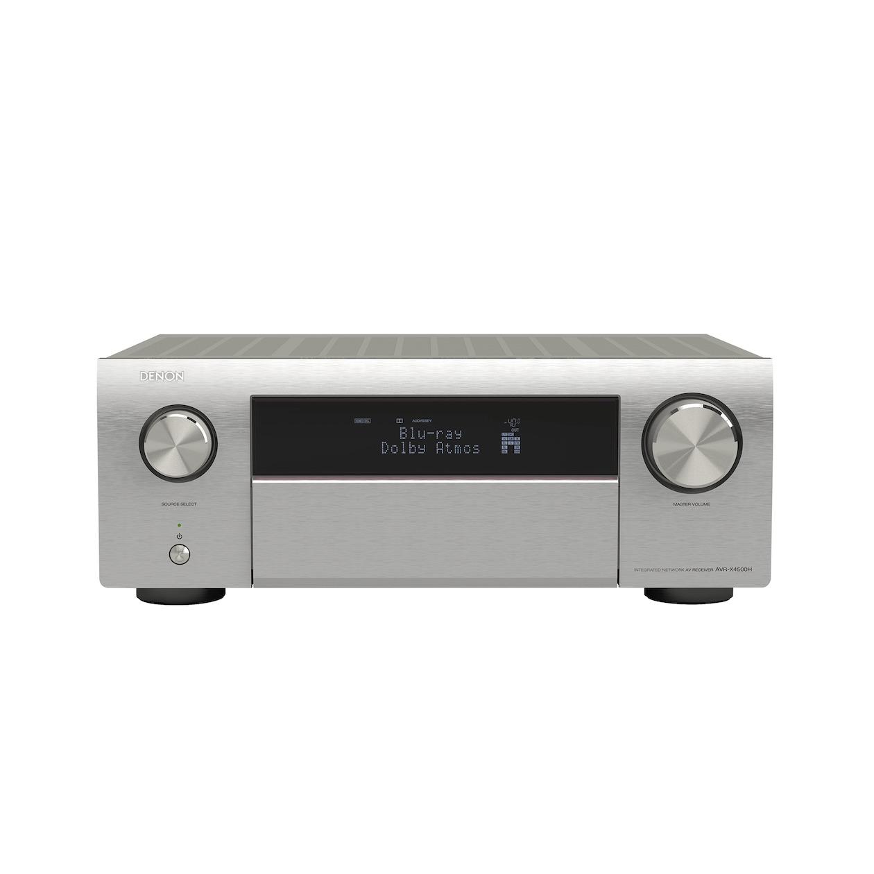 Denon: AVR-X4500H Receiver Zilver