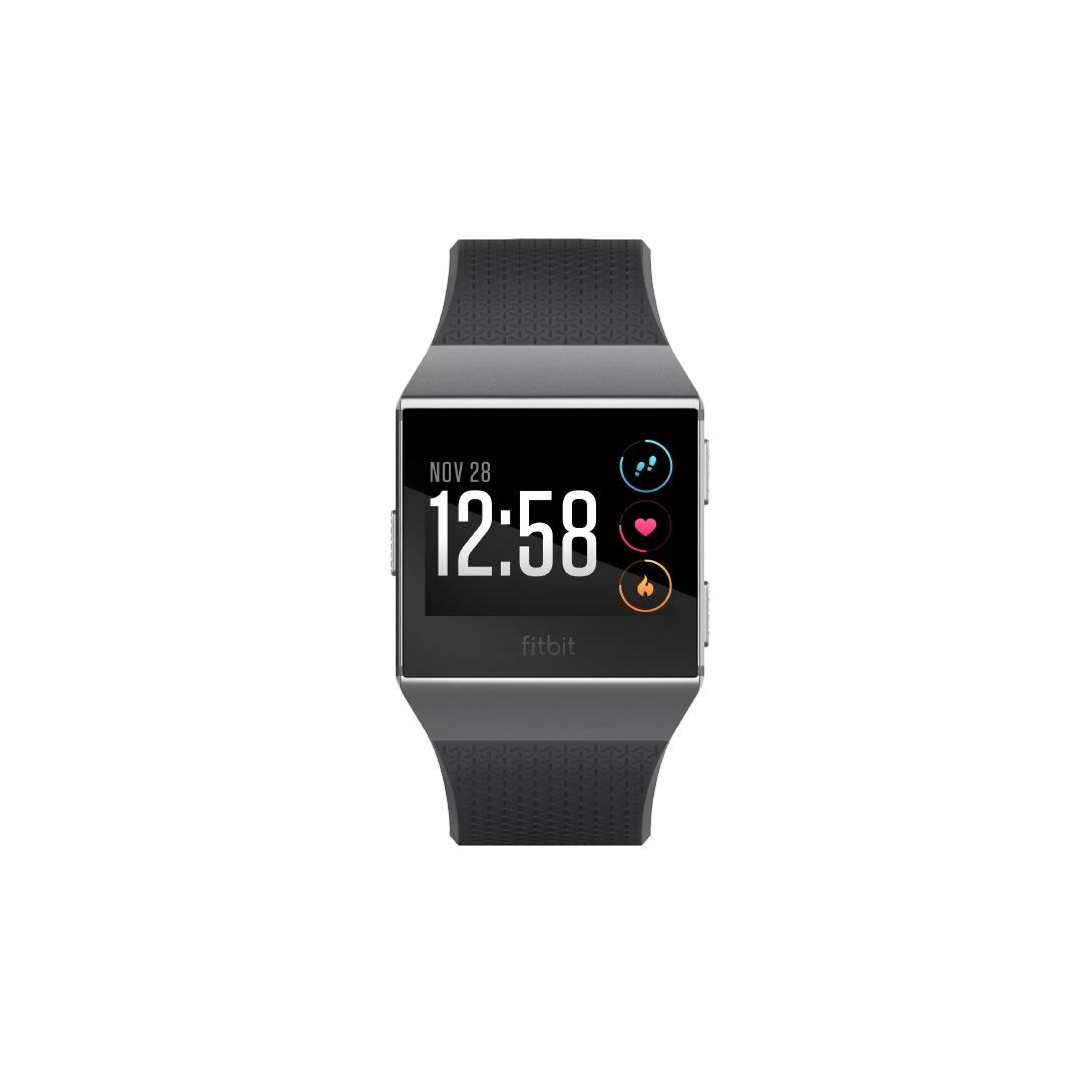 Fitbit smartwatch Ionic Smartwatch donkergrijs/grafiet