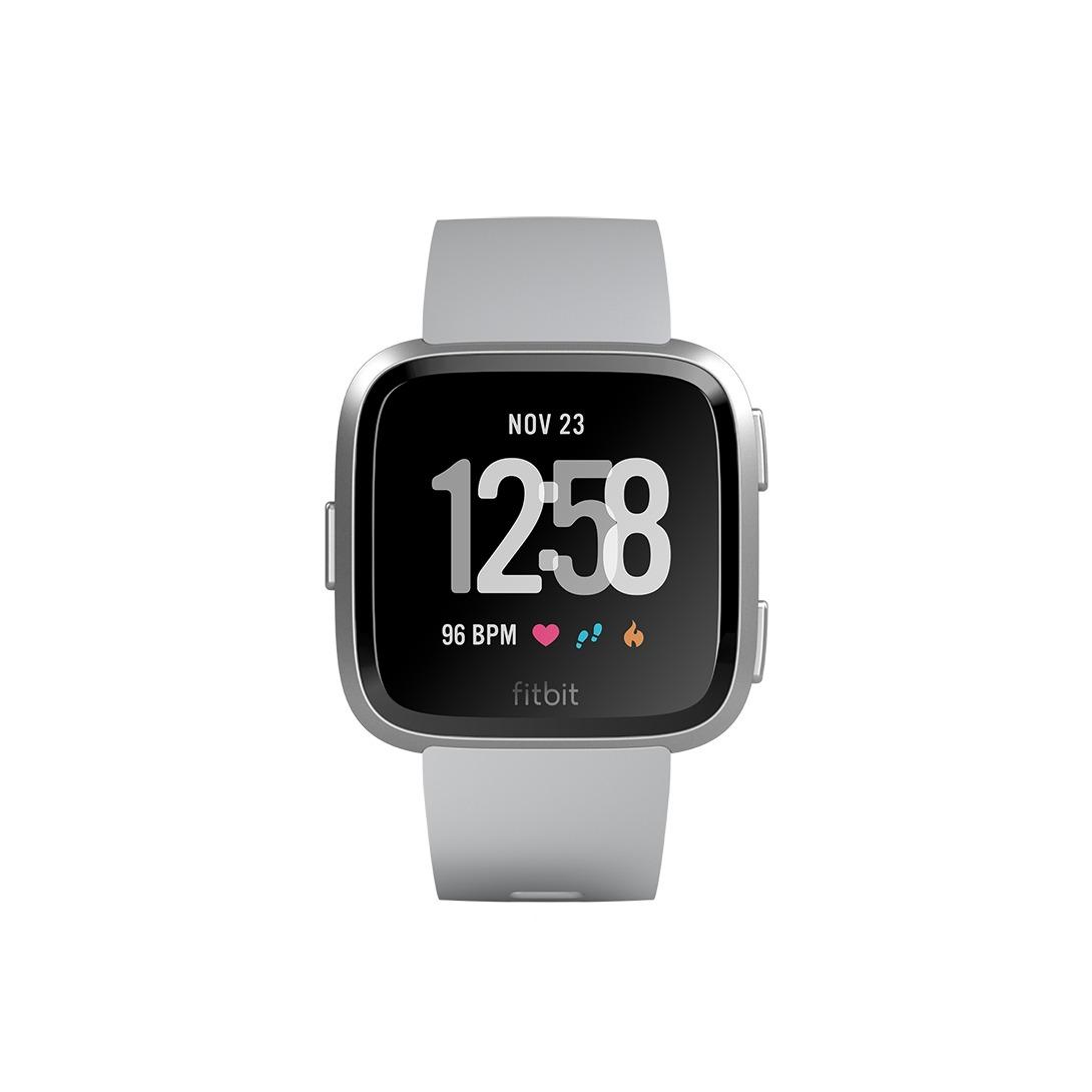 Fitbit smartwatch Versa Smartwatch grijs/zilver
