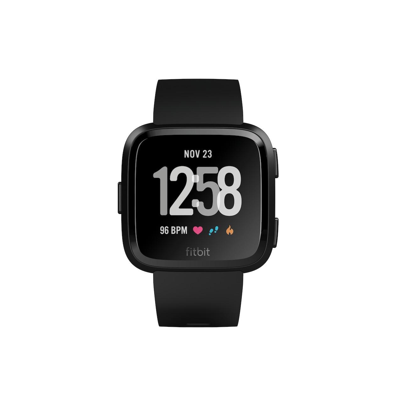 Fitbit smartwatch Versa Smartwatch zwart