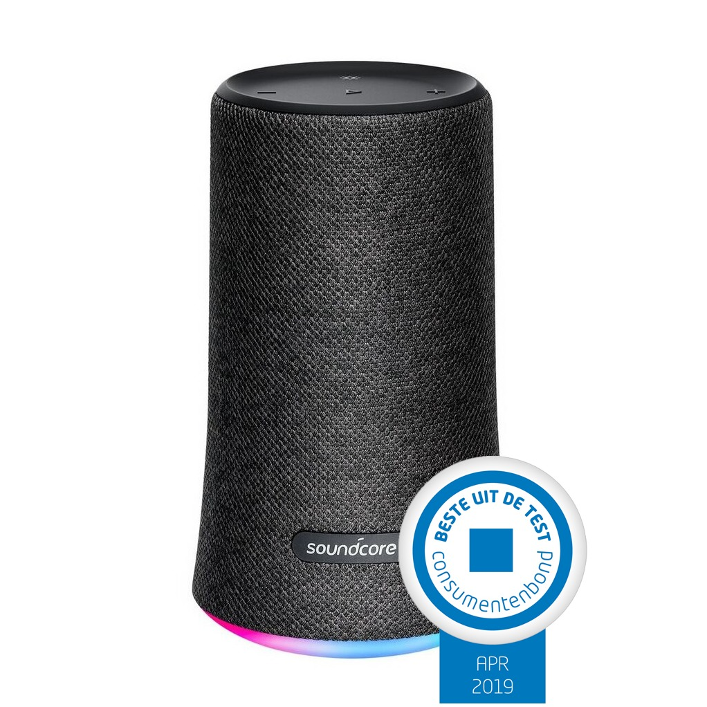 Anker bluetooth speaker SoundCore Flare zwart