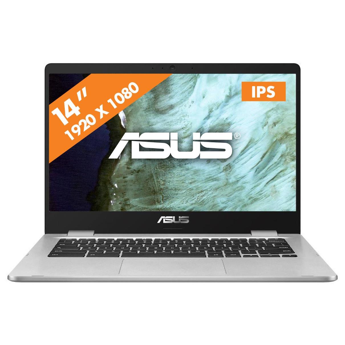 Asus chromebook C423NA EB0049 zilver