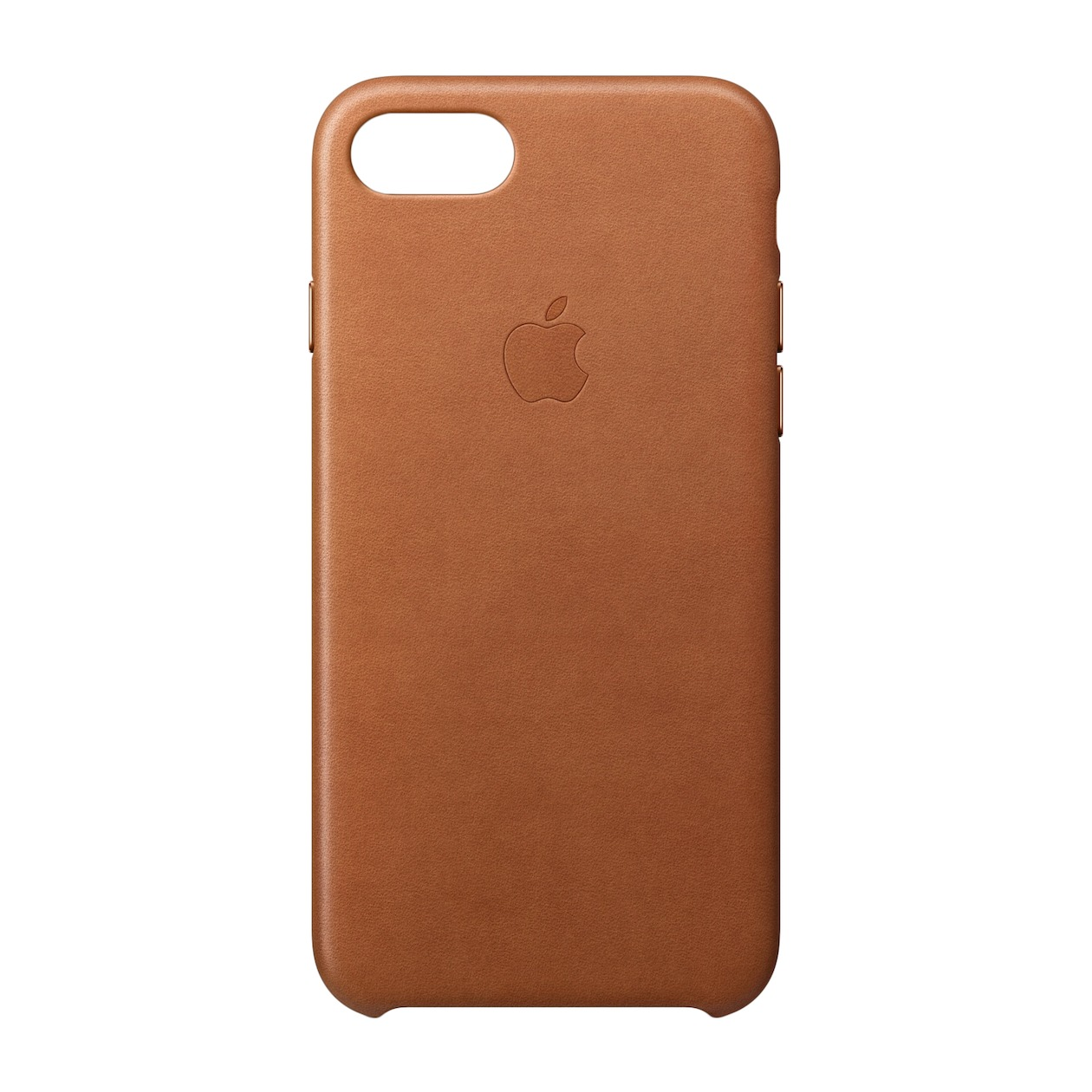 Apple telefoonhoesje Leather Back Cover voor Apple iPhone 7/8 bruin