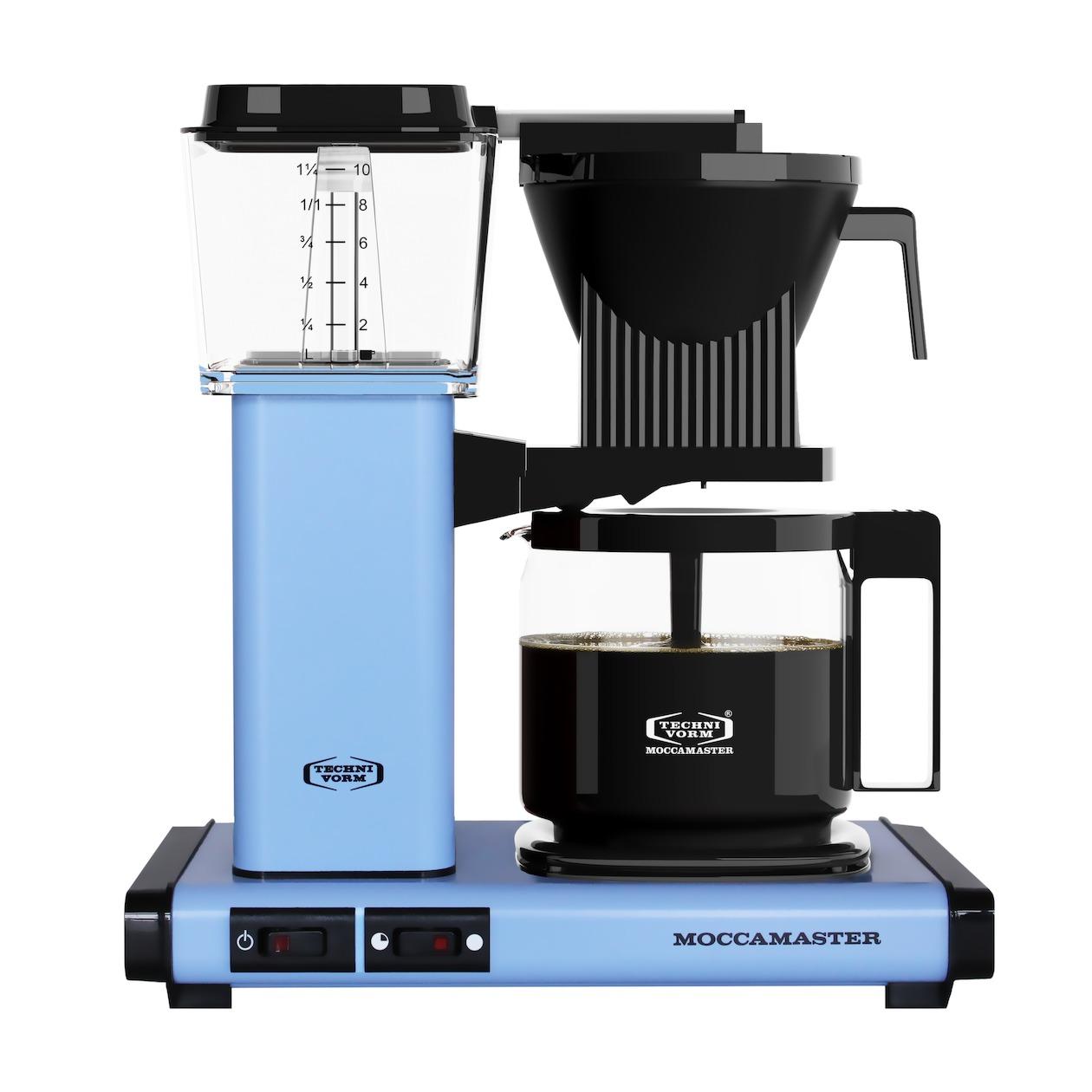 Moccamaster koffiefilter apparaat KBG741 AO pastelblauw