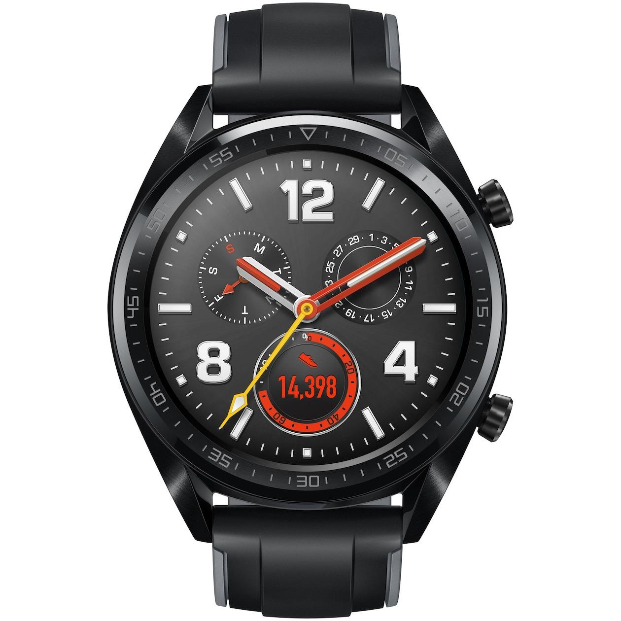 Huawei smartwatch Watch GT zwart
