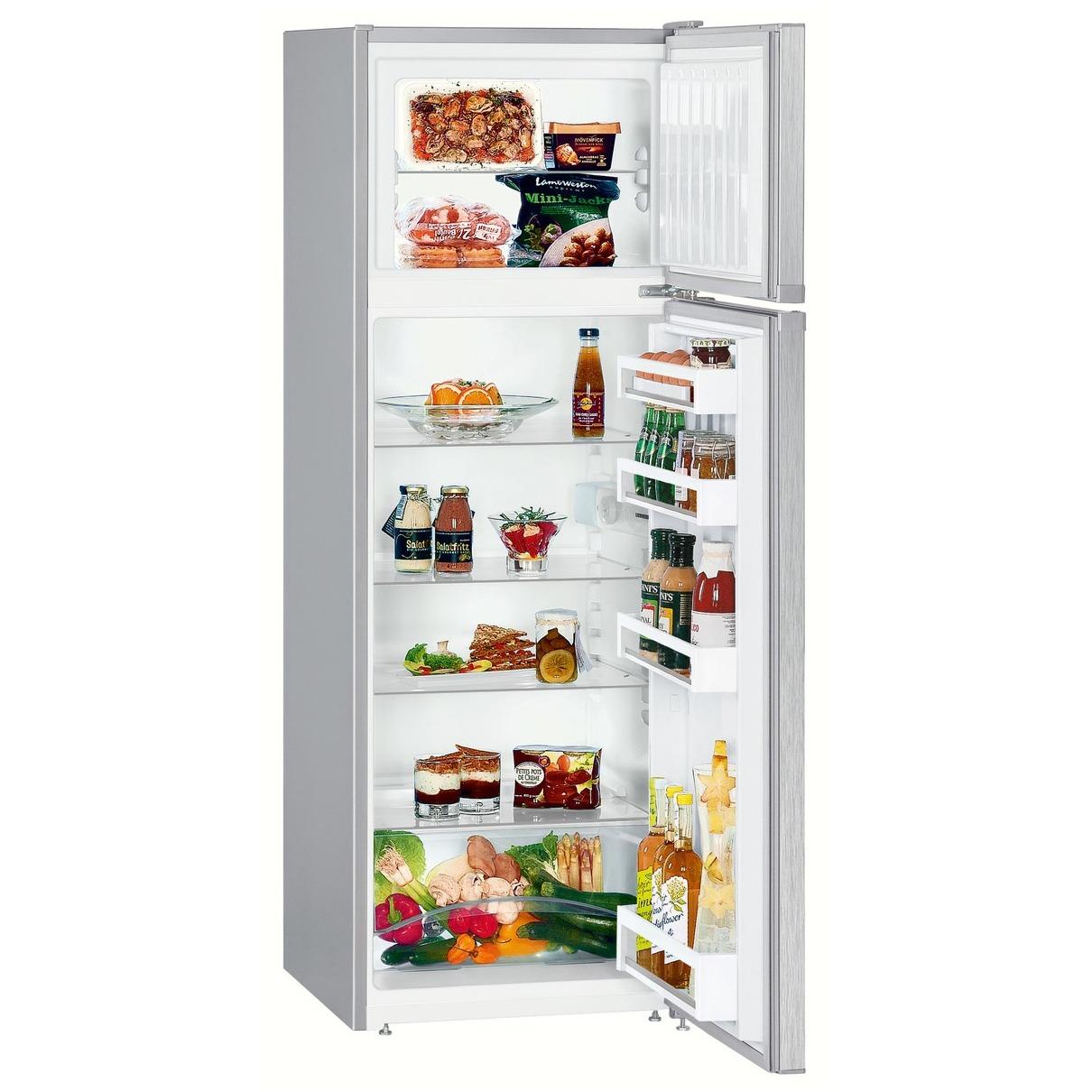 Liebherr koelkast met vriesvak CTel 2931-20 staalgrijs