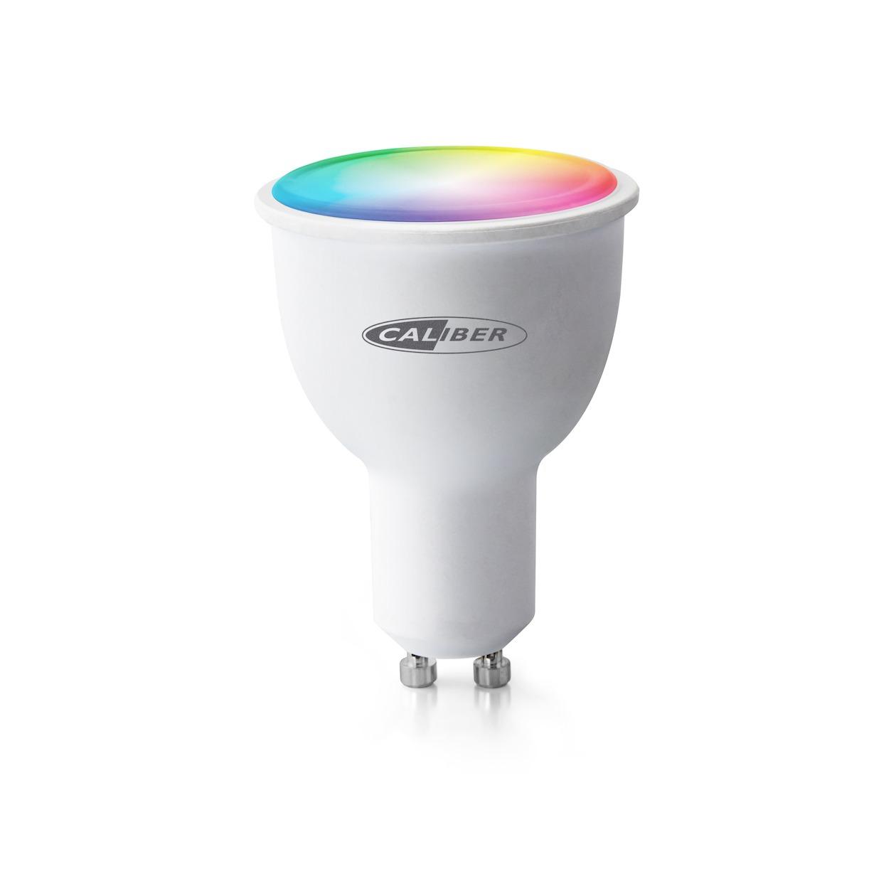 Caliber smartverlichting HWL5101 Smart Spot GU10 werkt met Google Assistant