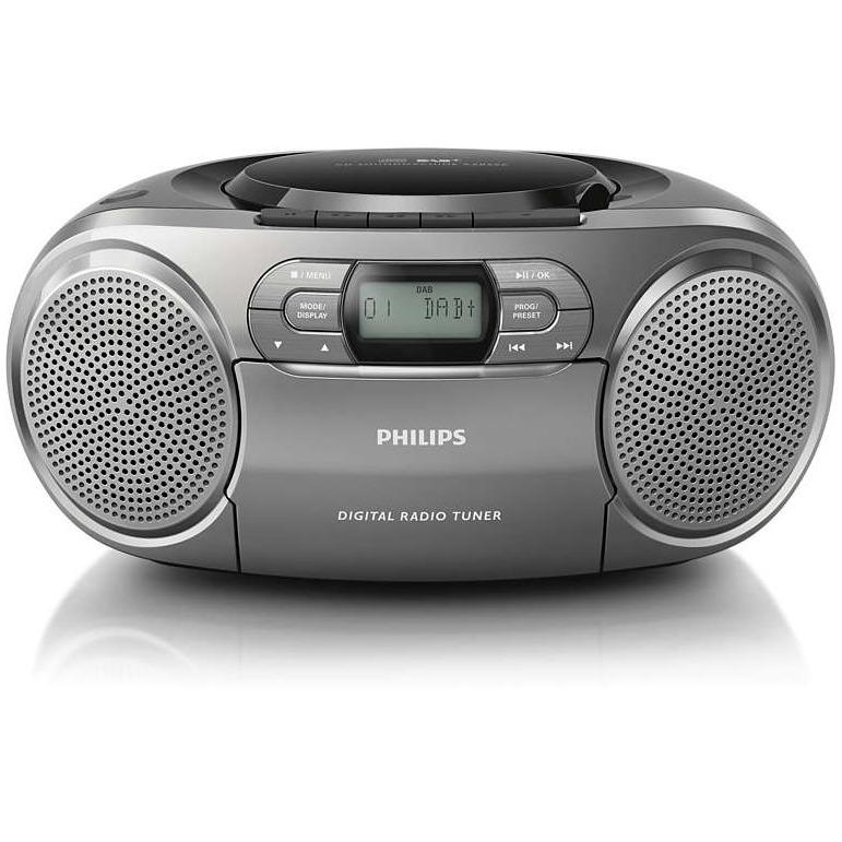 Philips AZB600 DAB+ Radio-CD-speler Grijs