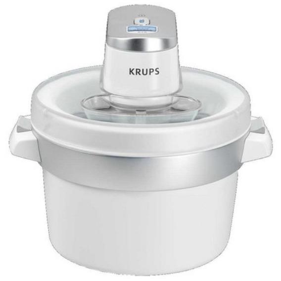 Krups ijsmachine Perfect Mix 9000 GVS241 chroom/wit - Prijsvergelijk