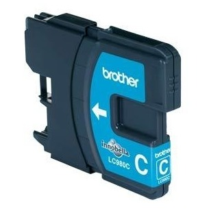 Brother inkt LC 980C cyaan
