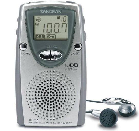 Korting Sangean DT 210 fm radio