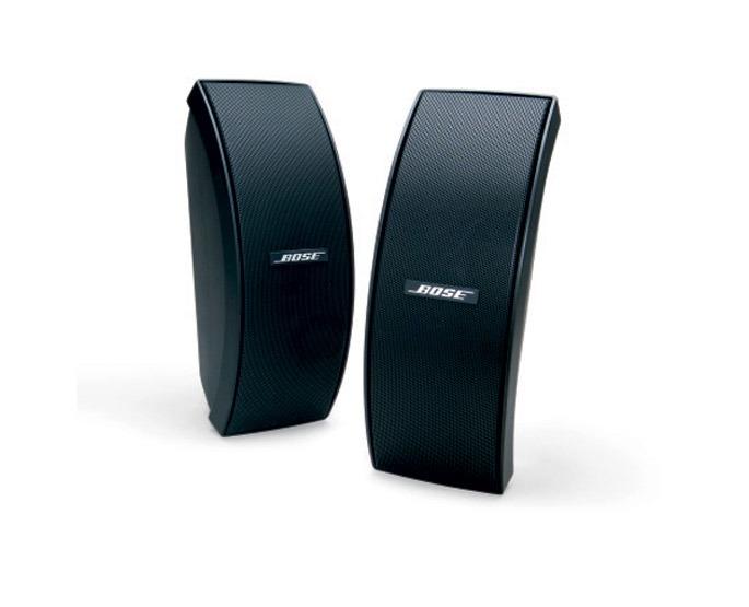 Bose boekenplank speaker 151 SE Environmental speaker (including brackets) zwart