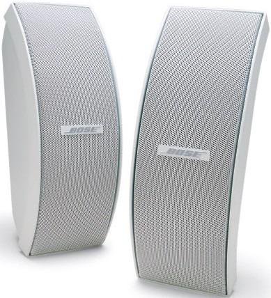 Bose boekenplank speaker 151 SE Environmental speaker (including brackets) wit
