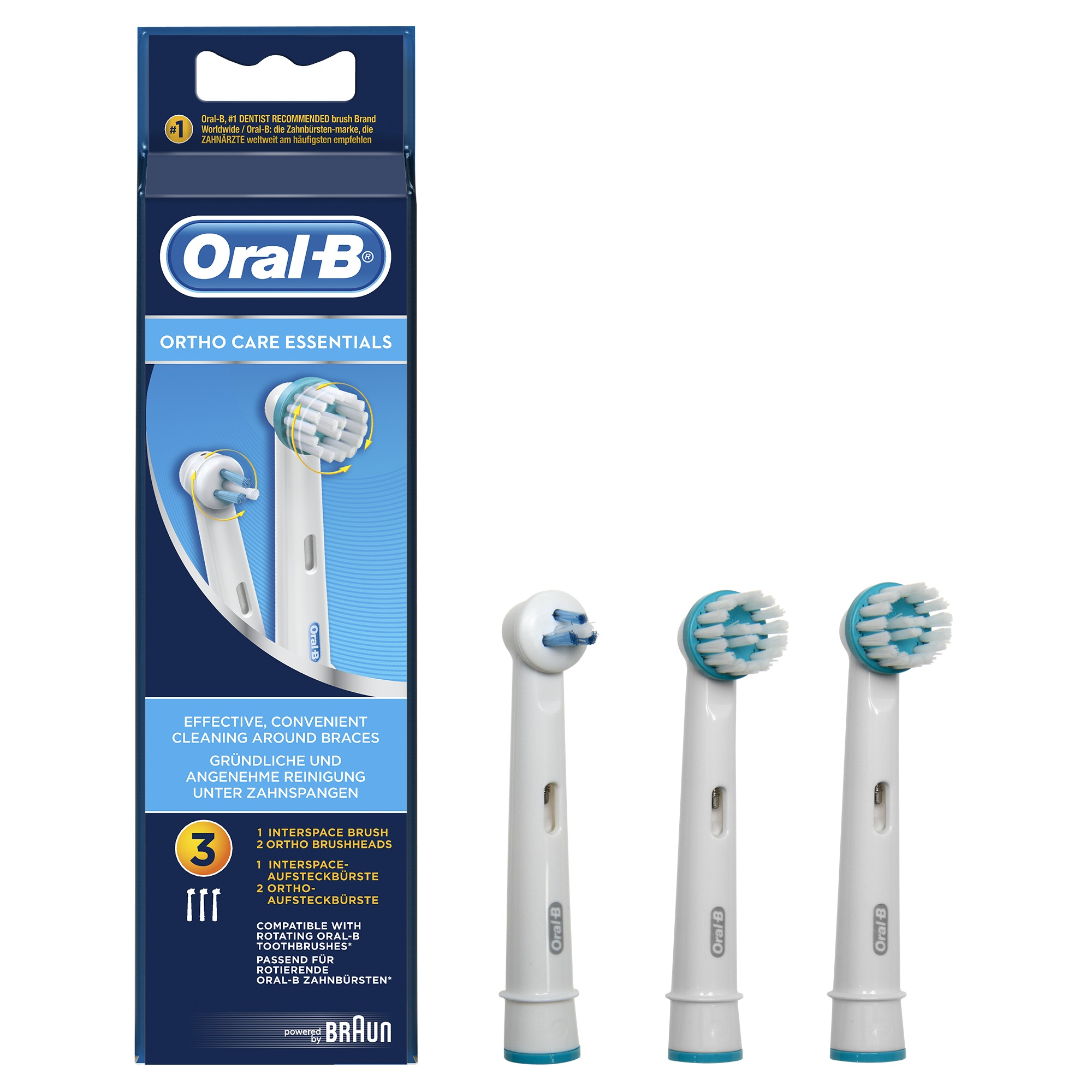 Korting Oral B Ortho Care Essentials EB Ortho Kit mondverzorging accessoire