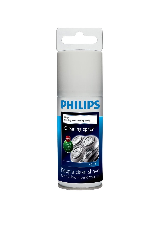 Korting Philips HQ110 02 Reinigingsspray voor scheerhoofden scheerhoofden