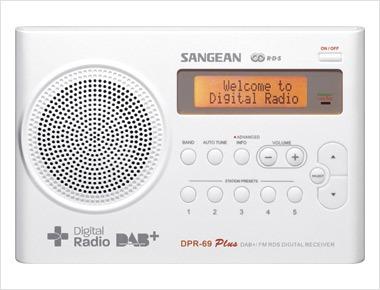 Foto van Sangean DPR-69 DAB radio