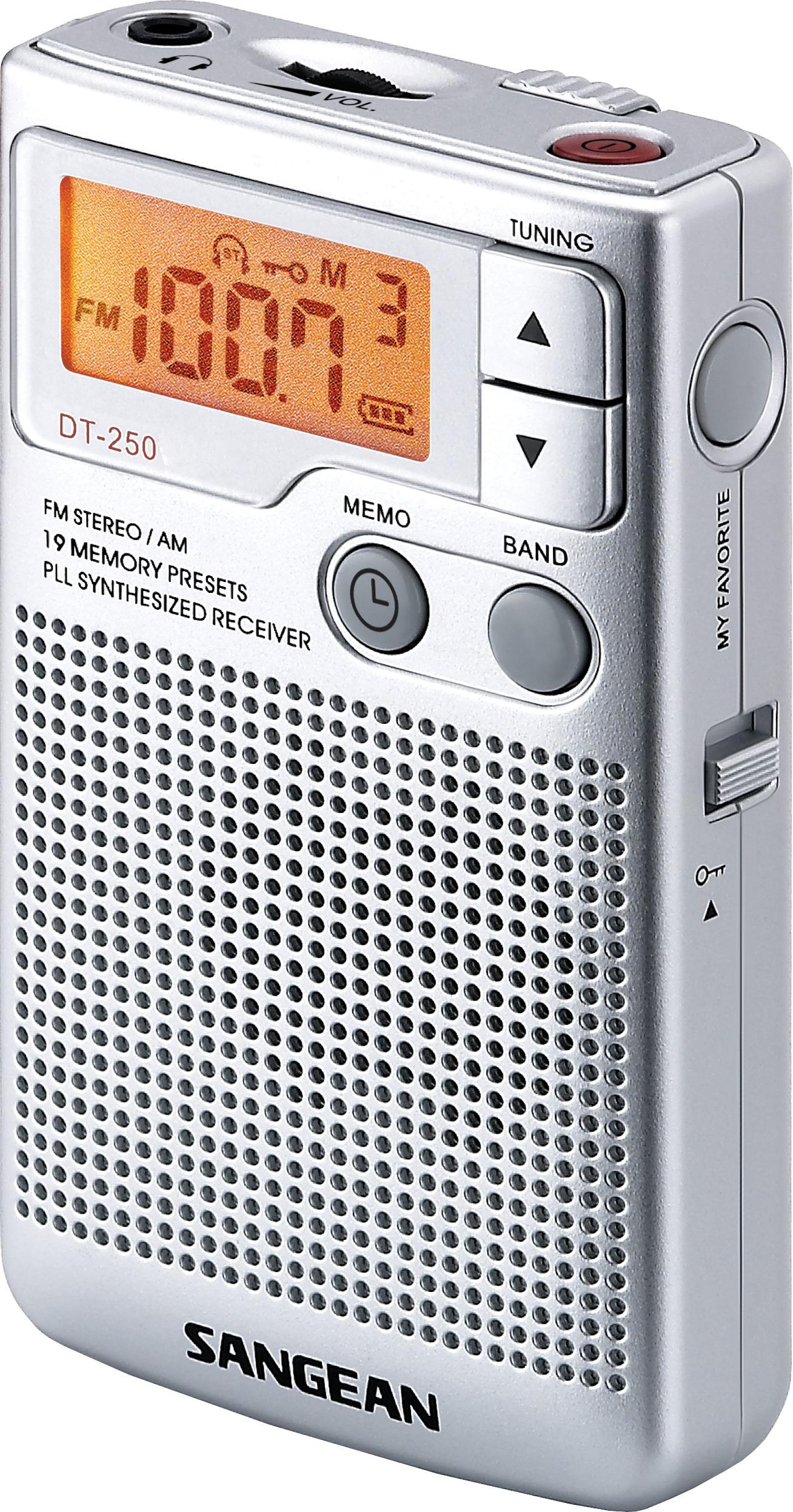 Foto van Sangean DT-250 FM radio