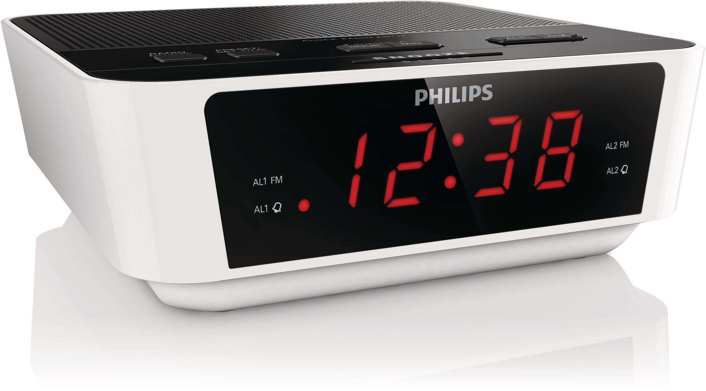 Philips AJ3115/12 Wekker radio
