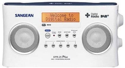 Korting Sangean DPR 25 DAB radio