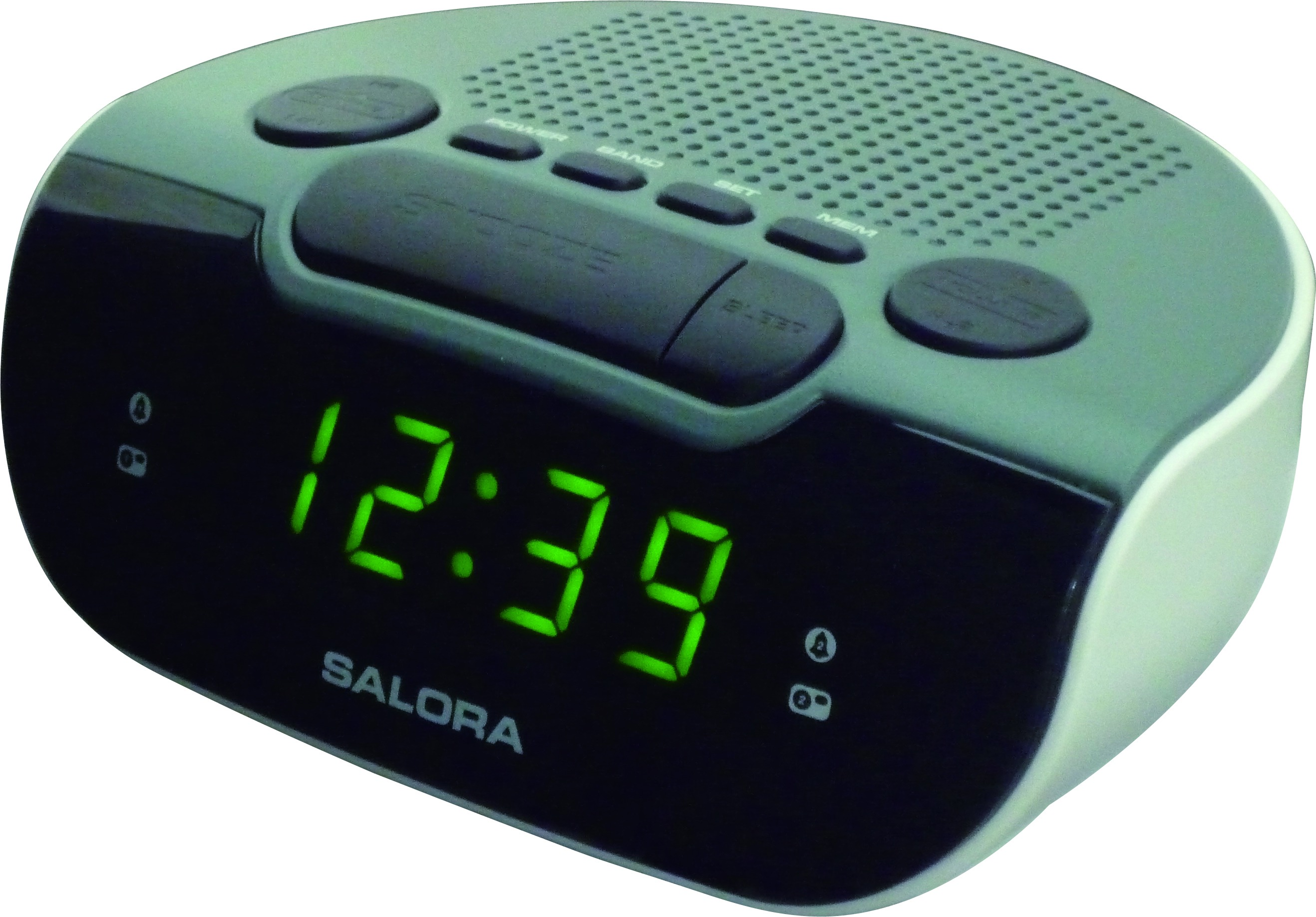 Salora CR612 Wekker radio
