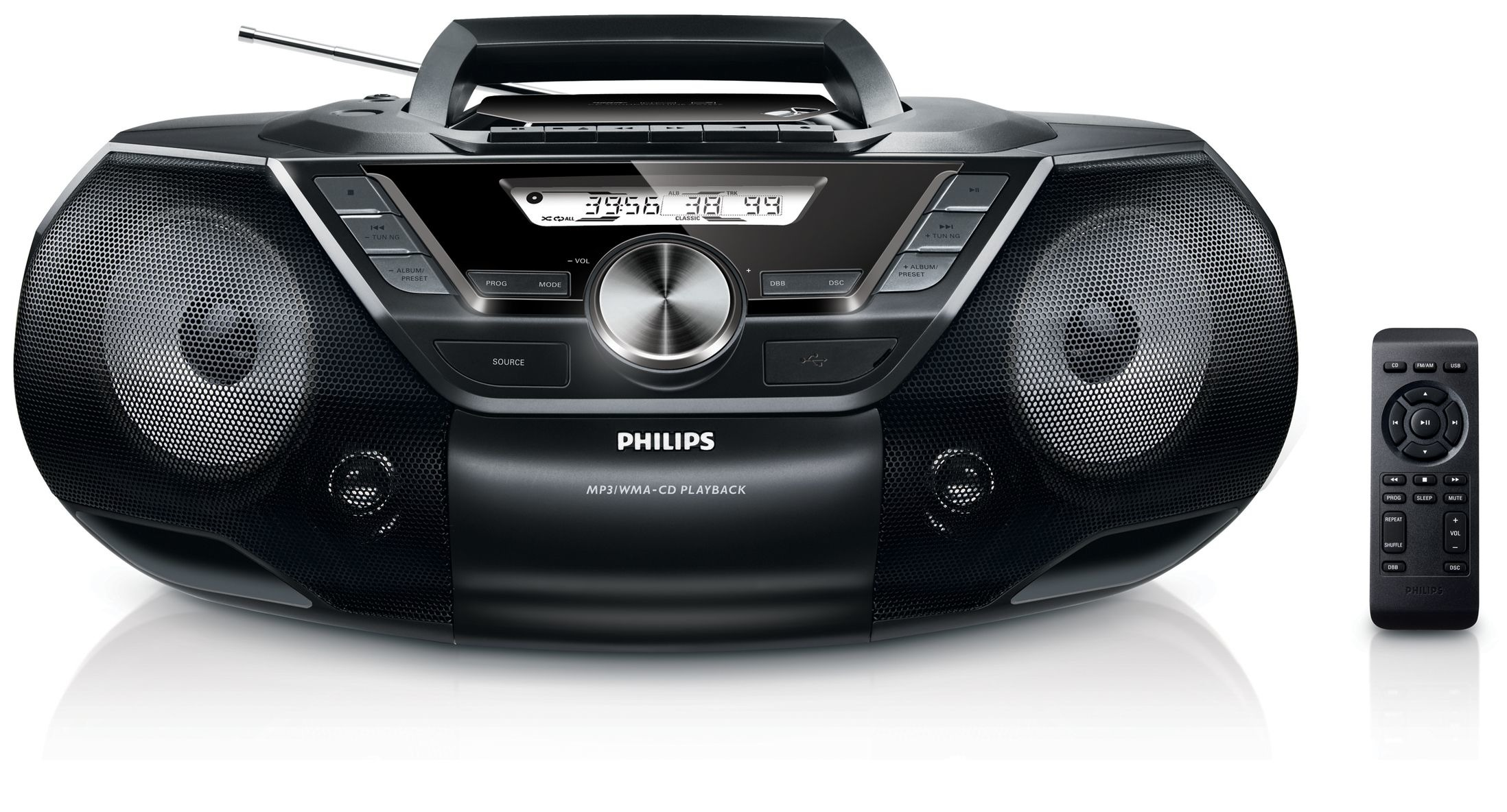 Korting Philips AZ78712 cd speler
